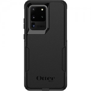 OtterBox Commuter Series Case For Samsung Galaxy S20 Ultra 5G Black - Thin, Soft Inner Slipcover, Dirt, Dust Protection