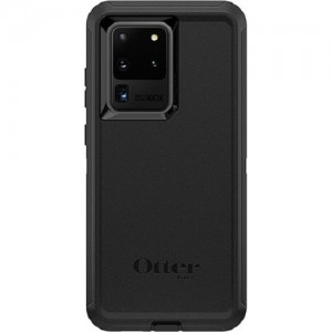 OtterBox Defender Series Case For Samsung Galaxy S20 Ultra 5G Black - Multi-layer Defense, Dust and Dirt Prevent