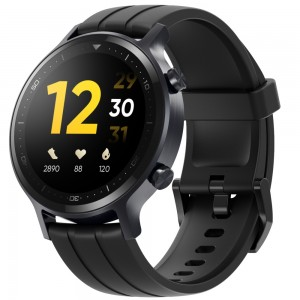 realme Watch S Black - 1.3' Auto Brightness Touchscreen, 16 Sports Modes, Blood Oxygen Monitor, Real-time Heart Rate Monitor, Up to 15-Day Battery
