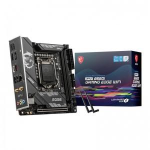MSI MPG B560I GAMING EDGE WIFI Intel LGA 1200 Mini-ITX Motherboard