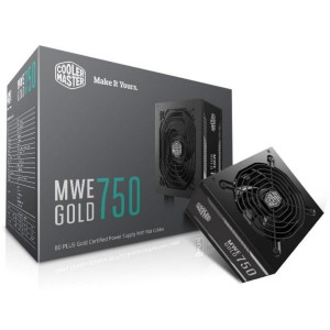 Cooler Master MWE Gold 750 Semi Modular 750W 80 Plus Gold ATX Power Supply PSU MPY-7501-ACAAG-AU