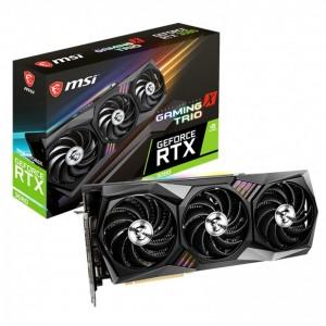 MSI nVidia Geforce RTX 3080 GAMING X TRIO 10G GDDR6X 1815 MHz Boost 4 Displays 7680x4320 3xDP 1xHDMI VR Ready