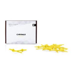 Noctua Yellow Chromax NA-SAV2 Anti Vibration Mounting Bolts (20 Pack)