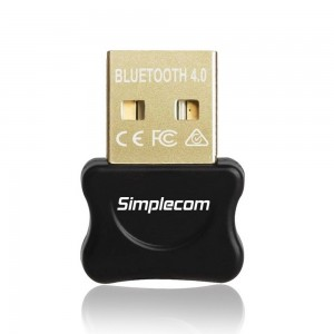 Simplecom NB405 USB Bluetooth 4.0 CSR Adapter Wireless Dongle with A2DP EDR NB405