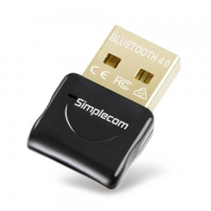 Simplecom NB407 USB Bluetooth 4.0 Widcomm Adapter Wireless Dongle with A2DP EDR NB407