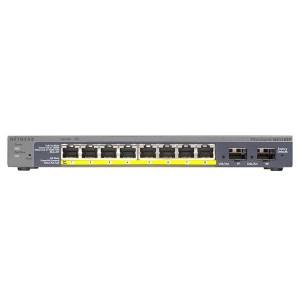 Netgear GS110TP ProSAFE 8-PORT Gigabit SMART SWITCH 8 Port POE 2 SFP