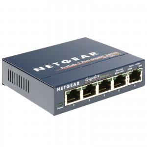 Netgear GS105 Prosafe 5 Port 10/100/1000 Gigabit Switch