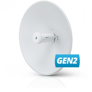 Ubiquiti PowerBeam 5AC Gen2 25dBi 5GHz 802.11ac 2x2 MIMO Antenna 25+ km