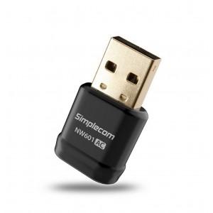 Simplecom NW601 AC600 Mini WiFi Dual Band Wireless USB Adapter NW601