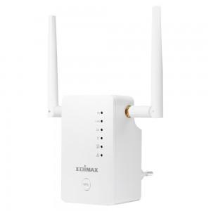 Edimax AC1200 Range Extender Smart AC1200 Dual-Band Wi-Fi 3in1 Extender/Access Point/Wi-Fi Bridge 1200Mbps (N300 + AC867Mbps) 802.11 (AU Plug)