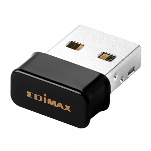 Edimax N150 2-in-1 Wireless WIFI & Bluetooth Nano USB Adapter - WIFI/BT/ 802.11bgn/Up to 2.4GHz (150Mbps)/Miniature Size/Designed for Notebook Laptop