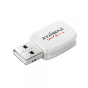Edimax Wireless Mini USB Adapter 300Mbps USB EW-7722UTn Version 2