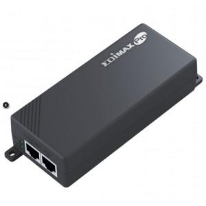 Edimax IEEE 802.3at Gigabit PoE+ Injector 30W 100m, 100-240V AC, 50-60 Hz, 0.6A