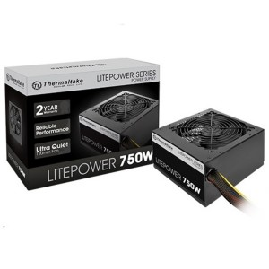 Thermaltake Litepower Gen 2 Non Modular 750W ATX Power Supply PSU for Desktop PC PS-LTP-0750NPCNAU-2