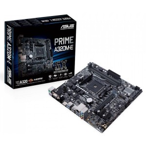 Asus Prime A320M-E Gaming AMD Ryzen Socket AM4 Micro ATX Motherboard DDR4 M.2
