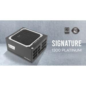 Antec Signature 1300w 80+Platinum Fully Modular, FDB 135mm Fan, Zero RPM, Phase Wave Design, OC-LINK, Server Grade, 10 years warranty.