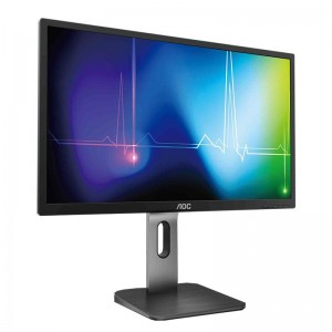 "AOC Q27P1 27"" QHD Flicker-Free IPS Monitor"