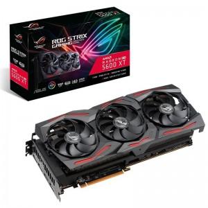 ASUS AMD Radeon RX 5600 XT 6GB TOP EDITION GDDR6 PCIe 3xDP 1xHDMI 2.7 Slot 1770 Boost, 3 Fans, RGB