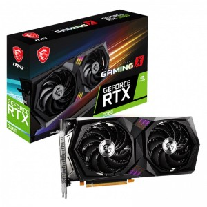 MSI GeForce RTX 3060 GAMING X 12GB HDMI DP Video Card