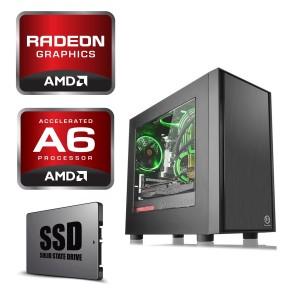 AMD A6-7400K 3.5GHz 120GB SSD 4GB Radeon R5 Gaming Computer Desktop PC