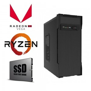 AMD Ryzen 3 3200G 4.0GHz | 8GB | 240GB SSD | Gaming Computer Office Desktop PC