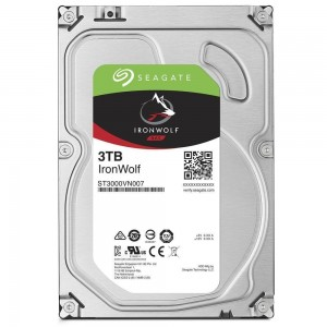 "Seagate IronWolf 3TB 3.5"" SATA Internal NAS Hard Drive HDD 5900RPM 64MB Cache ST3000VN007"