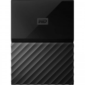 "Western Digital WD My Passport 4TB 2.5"" Portable External Hard Drive HDD Black WDBYFT0040BBK"