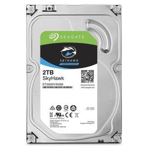 """Seagate SkyHawk 2TB 3.5"""" SATA Internal Surveillance Hard Drive HDD 5900RPM 64MB ST2000VX008"""