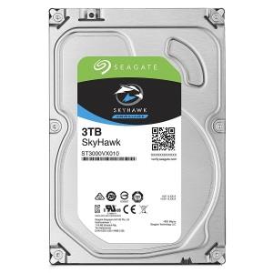 """Seagate SkyHawk 3TB 3.5"""" SATA Internal Surveillance Hard Drive HDD 5900RPM 64MB ST3000VX010"""