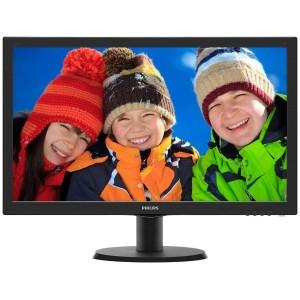 "Philips 243V5QHABA 24"" LED LCD Computer Monitor FHD 1080P 16:9 HDMI Speaker VA"