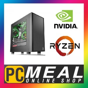 AMD Ryzen 5 3600X 6 Core 120GB SSD 8GB GTX1660Ti 6GB Gaming Computer Desktop PC