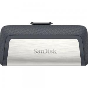 SanDisk 128GB Ultra Dual USB 3.1 Type C USB Flash Drive Memory Stick Thumb Key SDDDC2-128G