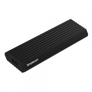 Simplecom SE513 NVMe PCIe M.2 SSD to USB 3.1 Type C Enclosure 10Gbps Black