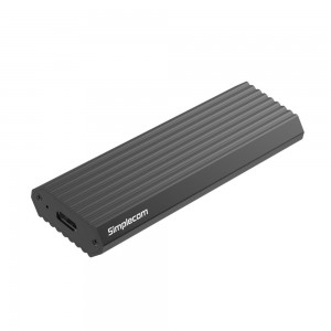 Simplecom SE513 NVMe PCIe M.2 SSD to USB 3.1 Type C Enclosure 10Gbps Grey