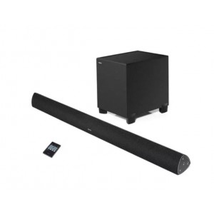 Edifier B7 CineSound Soundbar Speaker  System with Wireless Subwoofer Bluetooth, Optical, Coaxial, RCA - Ideal for HomeTheatre Large Format TV BLACK