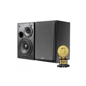 Edifier R1100 Active Studio Bookshelf Speaker Set - Classic Design and Build Quality, Dual PCA unout to Connect to Multiple Audio Sources BLACK