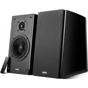 Edifier R2000DB Powered Bluetooth Lifestyle Bookshelf Speakers Black - BT/Dual 3.5mm AUX/Optical/Ideal for any iOS/Andriod/Mac/Windows/Remote Control