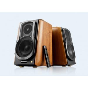 Edifier S1000MKIII 2.0 Actice Lifestyle Bookshelf Bluetooth Studio Speakers Brown