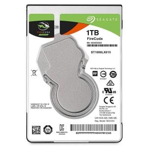"""Seagate FireCuda 1TB 2.5"""" SATA Internal Laptop Hybrid Hard Drive SSHD 8GB SSD ST1000LX015"""