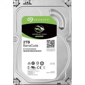 """Seagate BarraCuda 2TB 3.5"""" SATA Internal Desktop Hard Drive HDD 7200RPM 64MB ST2000DM008"""