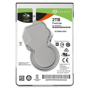 """Seagate FireCuda 2TB 2.5"""" SATA Internal Laptop Hybrid Hard Drive SSHD 8GB SSD ST2000LX001"""