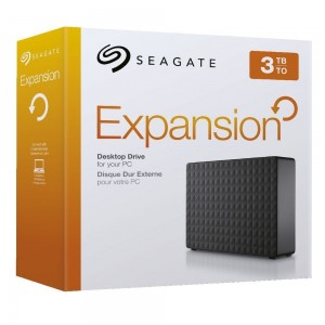"Seagate 3TB 3.5"" Expansion Desktop Hard Drive STEB3000300"