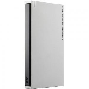 LaCie 1TB Porsche Design USB-C Slim Portable Hard Drive - Silver STET1000403