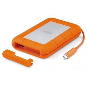 LaCie 2TB Rugged Thunderbolt & USB 3.0 Portable External Hard Drive STEV2000400