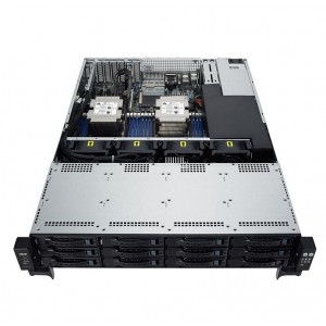 ASUS RS520-E9-RS12-E 2U Barebone Rackmont Server, Dual LGA3647, 16 x DIMM, 12x 3.5' HS Bays, 2 x Rear 2.5', 800W RPSU