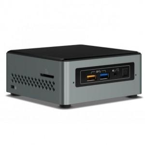 Intel NUC mini PC J3455 2.3GHz 2xDDR3L SODIMM 2.5' HDD/SSD VGA HDMI 2xDisplays GbE LAN WiFi BT 4xUSB3.0 BOXNUC6CAYH~Power Cord Required CB8W-