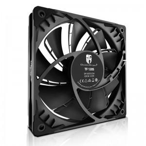 Deepcool TF 120S Black Colour The Beast Unleasing Radiator Fan 120mm, Low Noise