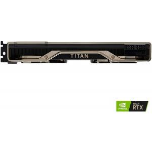 NVidia TITAN RTX 24GB GDDR6, Ultra Fast, Fastest PC Graphics Card, 1770MHz Boost, 130 Tensor TFLOPs of Performance, 576 Tensor Cores