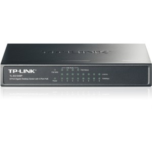 TP-Link TL-SG1008P 8-Port Gigabit Desktop Switch w/ 4-Port PoE