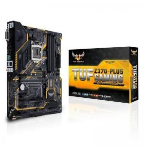 ASUS TUF Z370-Plus Gaming Motherboard ATX INTEL LGA1151 DDR4 M.2 HDMI RGB Type-C